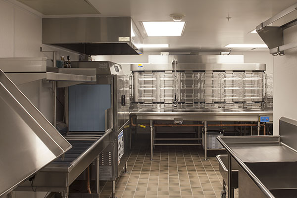 Sustainable Commercial Kitchen Design Traditional Kitchen